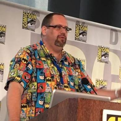 Jim Speaking at San Diego Comic Con